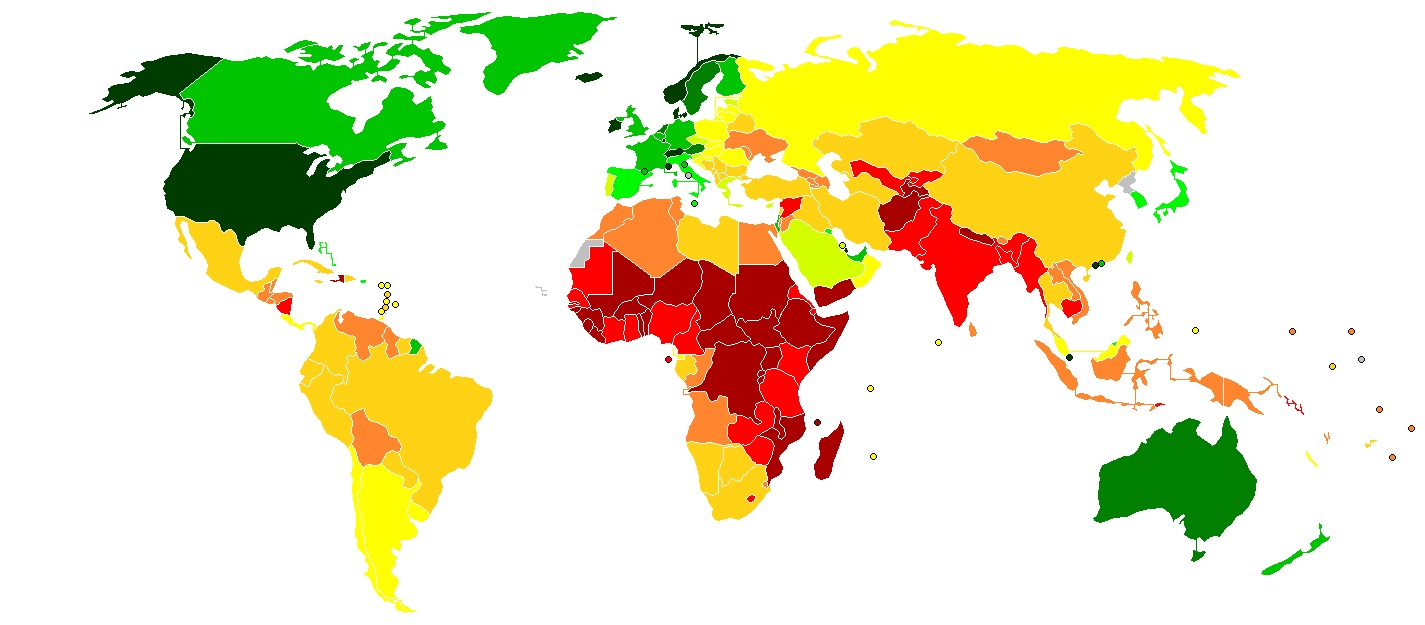 Wikipedia Commons CountriesByGDPPerCapitaNominal2018